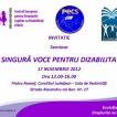 INVITATIE Seminar - O SINGURA VOCE PENTRU DIZABILITATE