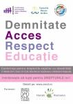 """INVITAȚIE - Conferința tematică """"D.A.R.E – Demnitate, Acces, Respect, Educație."""