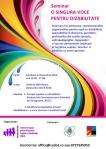Seminar - O SINGURA VOCE PENTRU DIZABILITATE - Buzau - a III a editie
